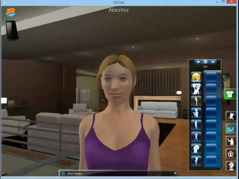 3D Chat - Gestures and actions for avatar - PC