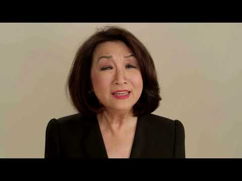 Connie Chung urges Asians to Vote for Biden/Harris