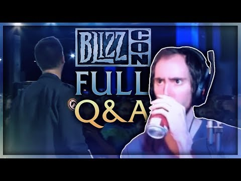 Asmongold Reacts to the WoW Q&A From Blizzcon 2018 | Part 2