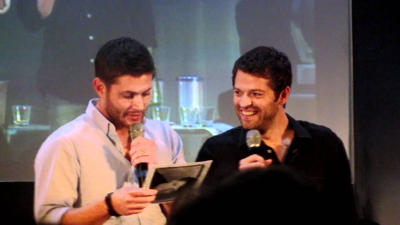 JIB 3: Jensen U0026 Misha Panel: Mishau0027s Old Resume   Jensen Laughing  Hysterically   YouTube  Misha Collins Resume