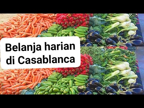 Belanja Harian di Casablanca Morocco