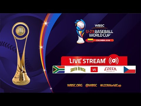 South Africa v Czech Republic – U-23 Baseball World Cup 2018