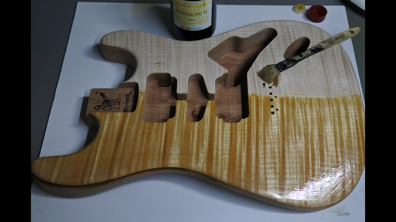 Warmoth Stratocaster Flame Maple On Mahogany How To