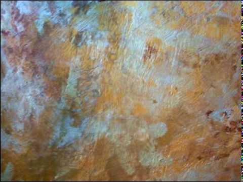 Vesalux Copper Rust Effect Faux Finishing Technique Doovi