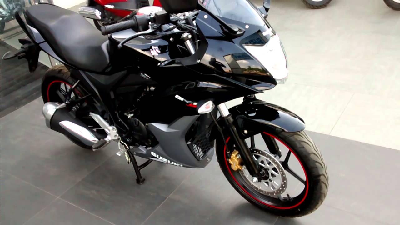 Suzuki Gixxer Sf Black By Ankit Kumar Srivastava Modified