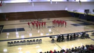 2010-11 Section 3AAA Centennial High Kick 2nd @ Bloomington Kennedy