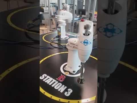 Long Beach City College Automation Lab Robots