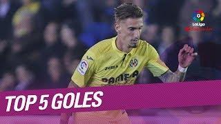 Top 5 goals matchday 37 laliga santander 2017/2018