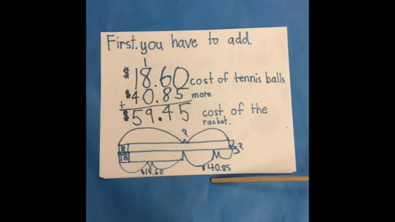 Addition 2 step Word Problem (3rd Grade) - YouTube