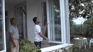 katlanır kapı pencere