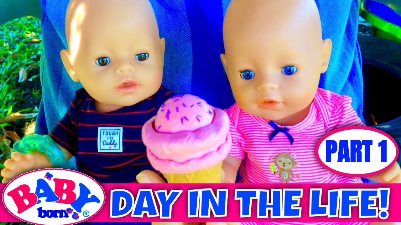 🍭Baby Born Day In The Life! (Part 1) Morning Routine & Playground Fun!🌈