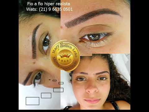 Micropigmentação de sobrancelhas fotos