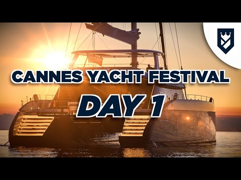 CANNES YACHT SHOW DAY 1. SUNREEF 80 AND MUCH MORE!!!