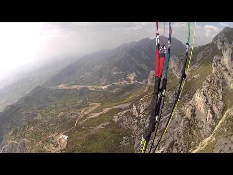 AERONAUTIKA SHQIPTARE - PARAGLIDING FLY 20.04.2013, DAJTI MOUNTAIN, TIRANA, ALBANIA