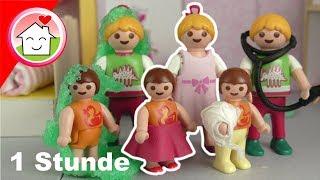 Playmobil Film Familie Hauser - Anna und Lena Geschichten - Mega Pack Spielzeug Video für Kinder