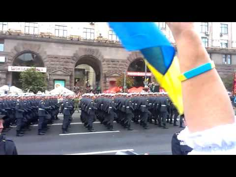 Kiev Military Parade: Ukraine's Independence Day 2016 part 2/3