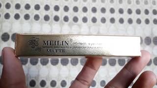 MEILIN hi-tech  eyeliner (matte) review