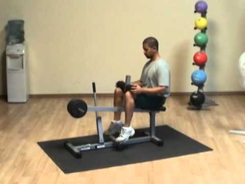 Powerline Seated Calf Machine #PSC43X