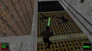Star Wars Jedi Knight: Dark Forces II - (Level 4) The Jedi