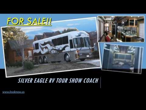 Silver Eagle RV Coach Bus FOR SALE! Stunning and quality!