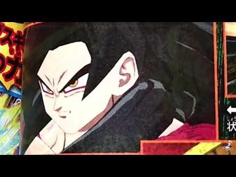 Dragon Ball FighterZ   Xenoverse 2 - SSJ4 Goku Transformation / SSG Vegeta DLC Vjump Scan!