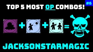 TOP 5 MOST OP COMBOS #6! | Roblox Elemental Battlegrounds