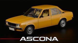 Десятилетний Опель: Opel Ascona B 1975 от Schuco / Масштабные модели автомобилей нашего...