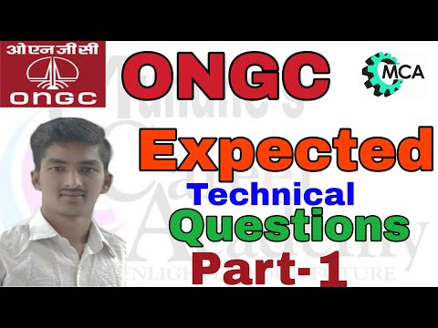ONGC EXPECTED QUESTIONS TECH. PART 1