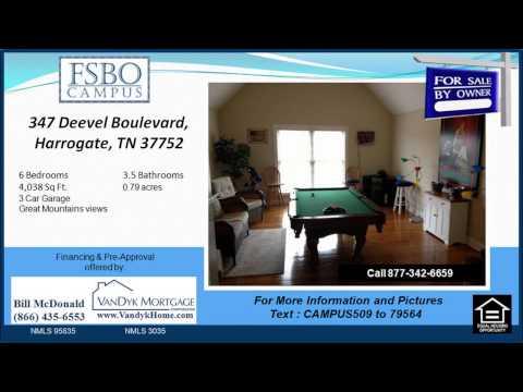 6 bedroom House for sale near Cumberland Gap High School in Harrogate TN