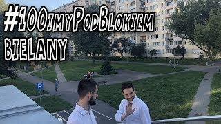 Akcja #100imyPodBlokiem Patryka Jakiego. Odwiedził warszawskie #Bielany Zobaczcie reakcje ludzi!