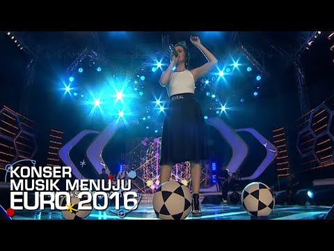 Kerennya Penampilan Geisha 'Sementara Sendiri' [Konser Musik EURO] [29 Mei 2016]