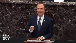 WATCH: Rep. Schiff's full opening argument in the Trump impeachment trial | Trump impeachment trial