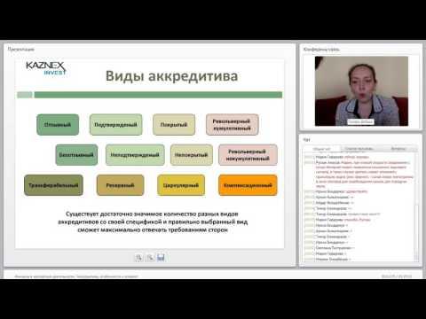 Аккредитивы, особенности и условия