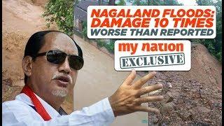 Nagaland CM on floods: Damage 10 times worse