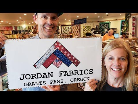TOUR OUR COMPANY AT JORDAN FABRICS!!!