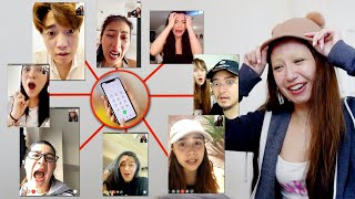MY FAMILY AND FRIENDS REACTION TO MY SHAVED EYEBROWS (Someone cried hahaha)