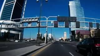 Баку один из лучших проспектов города дорога в аэропорт
