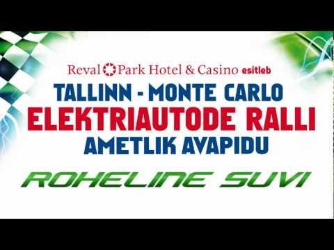"""Tallinn - Monte Carlo elektriautode ralli ametlik avapidu """"ROHELINE SUVI"""""""