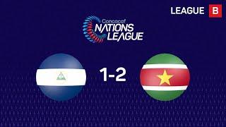 #CNL Highlights - Nicaragua 1-2 Surinam