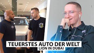 Justin reagiert auf das teuerste Auto der Welt.. | Reaktion