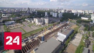 Сергей Собянин посетил строительство станции метро \