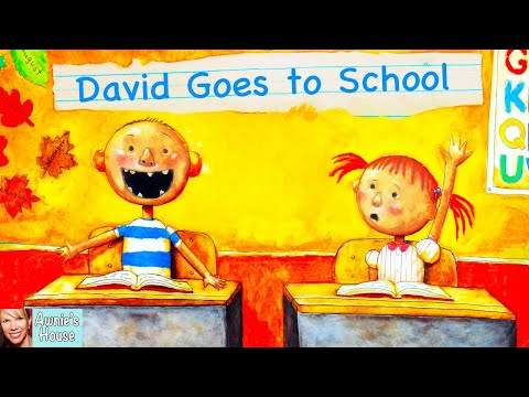 📚 Kids Book Read Aloud: DAVID GOES TO SCHOOL by David Shanno