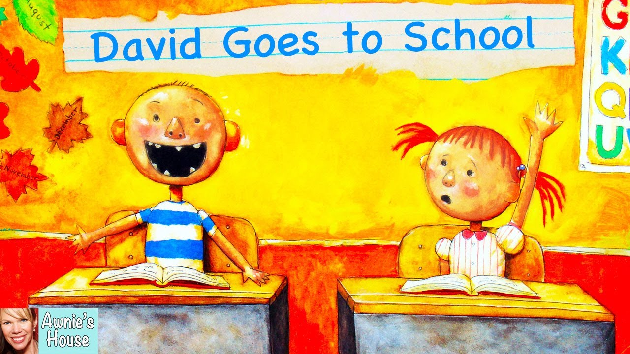 Download 📚 Kids Book Read Aloud: DAVID GOES TO SCHOOL by David Shannon