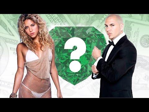 WHO'S RICHER? - Shakira or Pitbull? -...