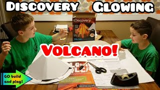 Discovery Glowing Volcano Build and Review!