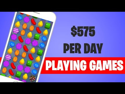 Make $575 TODAY PLAYING VIDEO GAMES (Make Money Online)