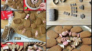 Christmas Special : Gluten-free & Vegan Gingerbread Cookies Recipe