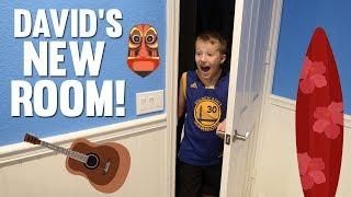 David's Surprise Bedroom Makeover!