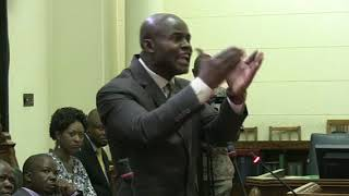 Chaos in Parliament land and agric committe Wadyajena stood his ground