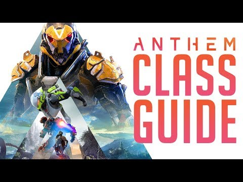 Anthem  All Javelin Classes & Abilities EXPLAINED